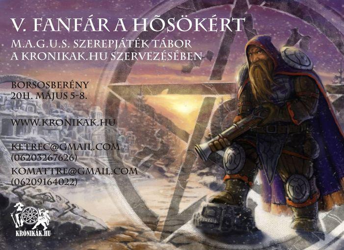 Fanfar a Hősökért Tábor - Borsosberény