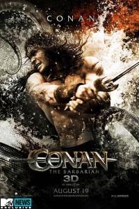 Conan, a Barbár plakát